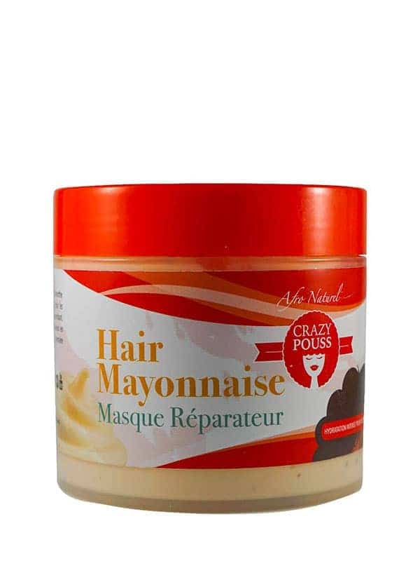 Crazy Pouss Hair Mayonnaise Masque Réparateur 500...