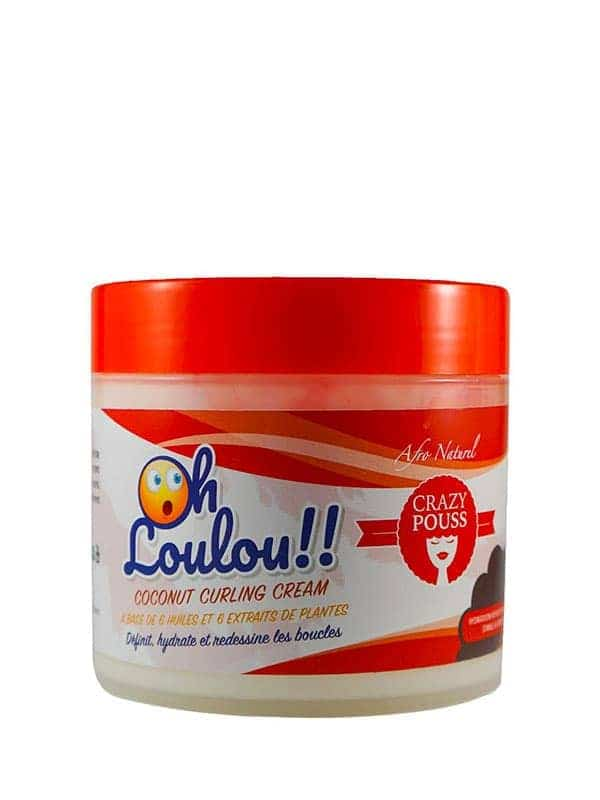 Crazy Pouss Oh Loulou!! Coconut Curling Cream 500m...