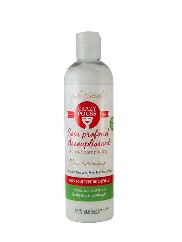 Crazy Pouss Soin Profond Assouplissant Apres-shampooing 250ml Afro Naturel