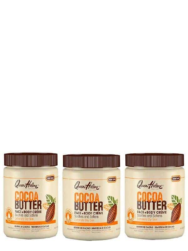 Cream Cocoa Butter 15oz 1.47 Kg Queen Helene (3 Pa...