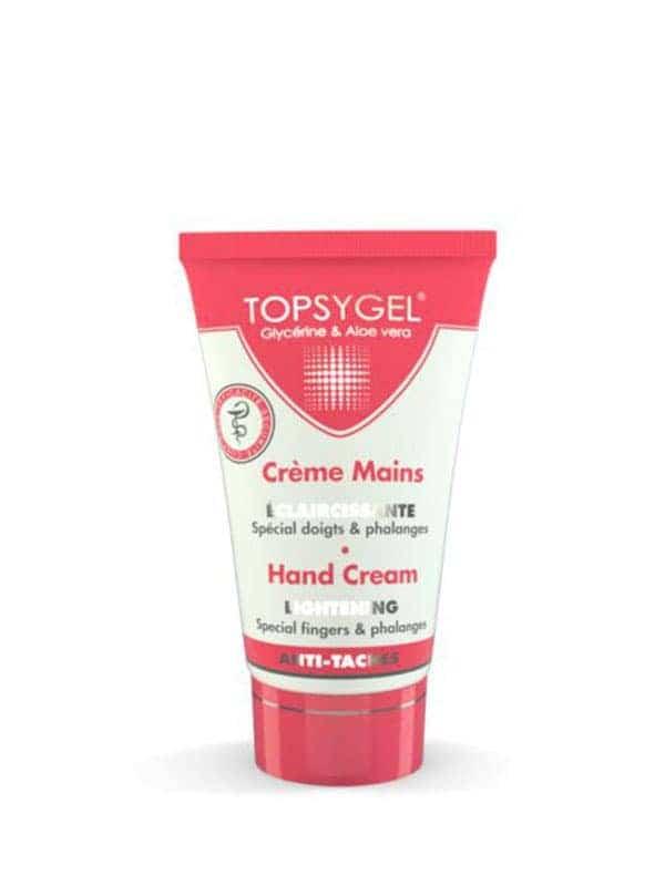 Crème Mains Éclaircissante 50ml Topsygel
