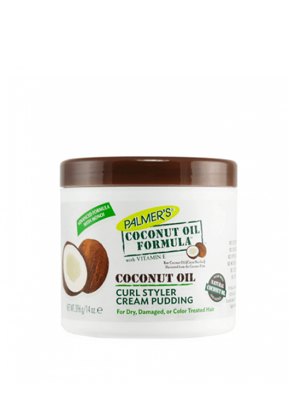 Coconut Oil Formula Curl Styler Cream Pudding