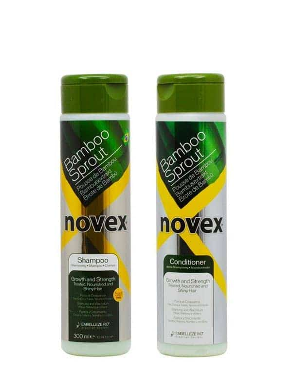 Duo Set Bamboo Sprout Shampoing Et Conditionner 10.14 Oz Novez