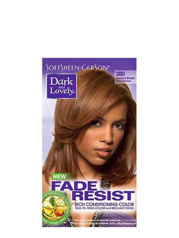Fade Resist Rich Conditioning Color 380 Blond Châtaigne Dark and Lovely
