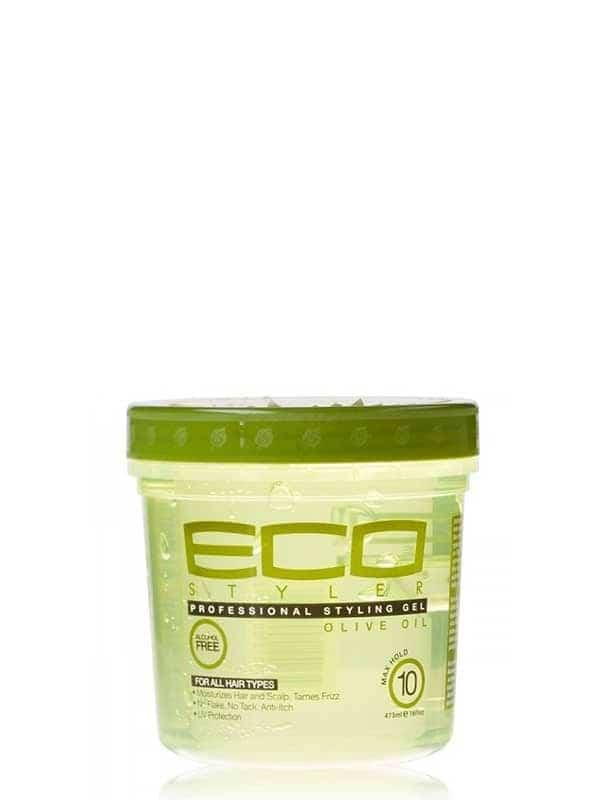 Gel Coiffant À Base D'huile D'olive 473 Ml Eco St...