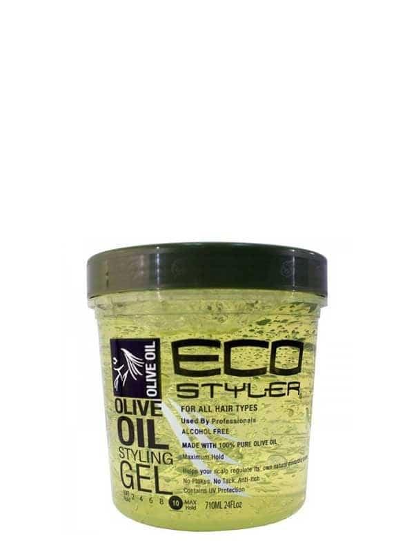 Gel Coiffant À Base D'huile D'olive 710 Ml Eco St...