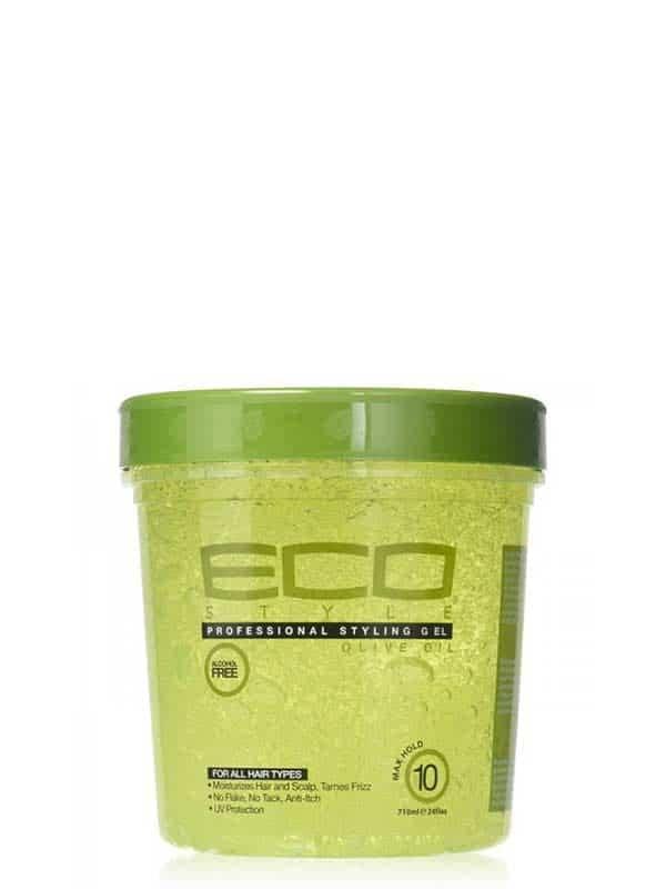 Gel Coiffant À Base D'huile D'olive 710ml Eco Sty...
