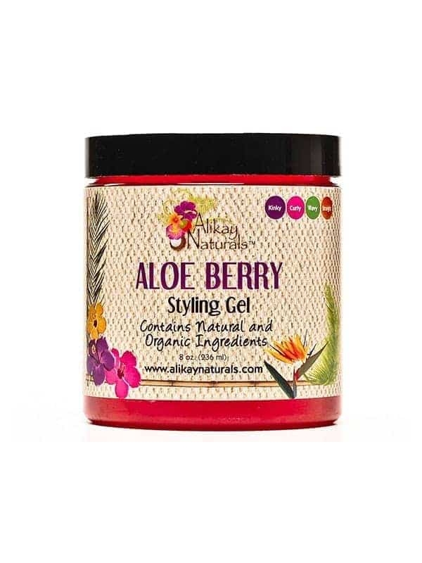 Gel Coiffant Aloe & Fruits Rouges 227 G (Aloe ...