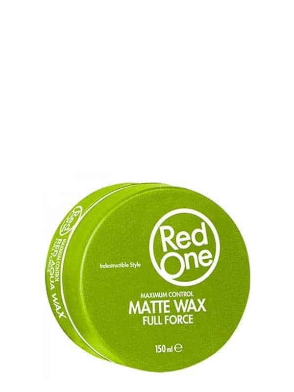 Green Matte Hair Gel Wax Full Force 150 Ml Red One...