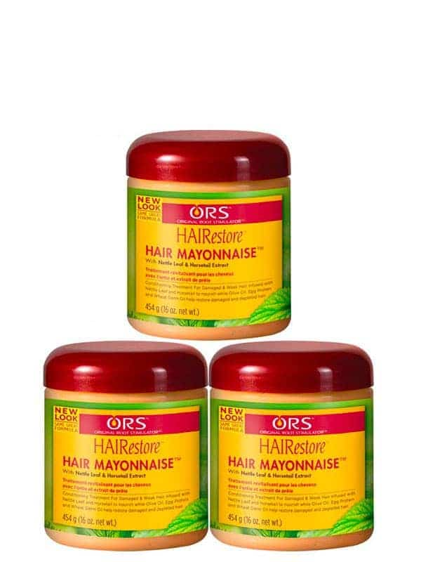 Hairestore Lot De 3 Hair Mayonnaise Treatment 475 ...