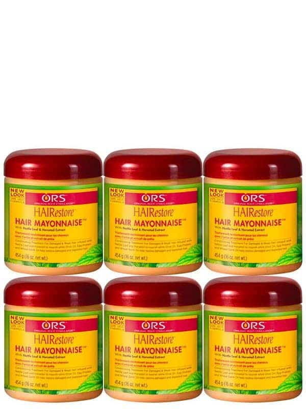 Hairestore Lot De 6 Hair Mayonnaise Treatment 454 Ml Ors