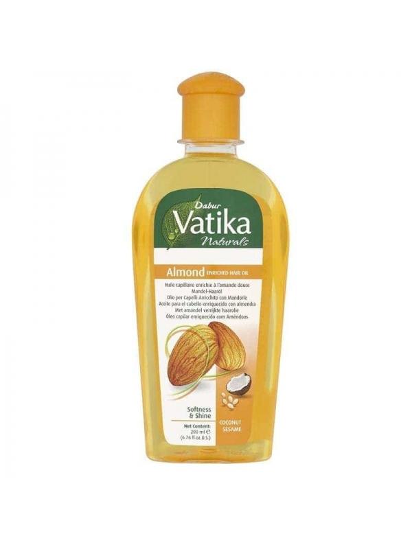Huile D'amande Pour Cheveux 200ml Dabur Vatika