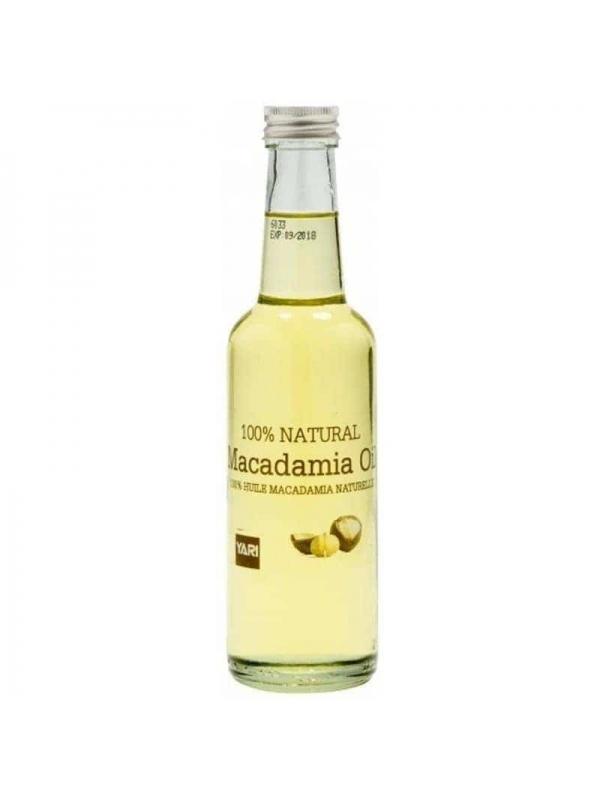 Huile De Macadamia 100% Naturelle 250ml Yari