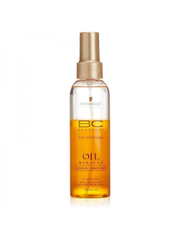 Huile Spray Baume Bonacure Oil Miracle 150ml Schwa...