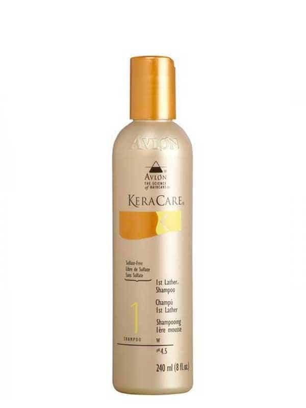 Keracare shampoing hydratant et démêlant 1ere mousse  sans sulfate