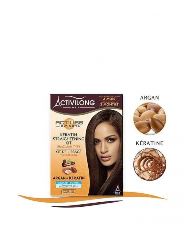 Keratin Straightening Kit - Brazilian Type - Regul...