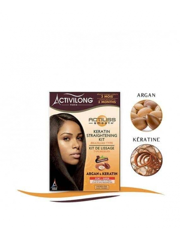 Keratin Straightening Kit - Brazilian Type – Super