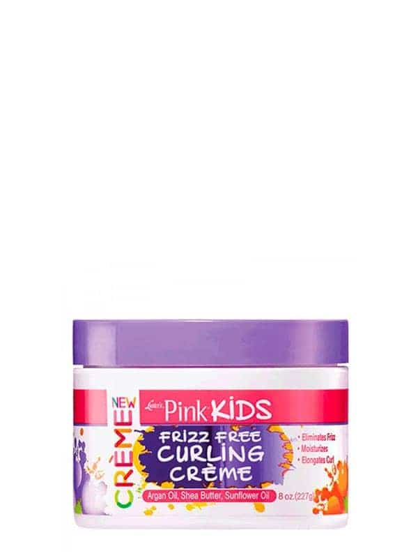 Kids Frizz Free Curling Creme 227g Luster's Pink