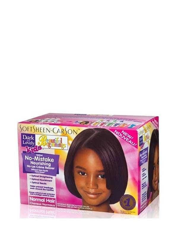 Kit Défrisant Sans Soude Cheveux Normaux Enfants ...