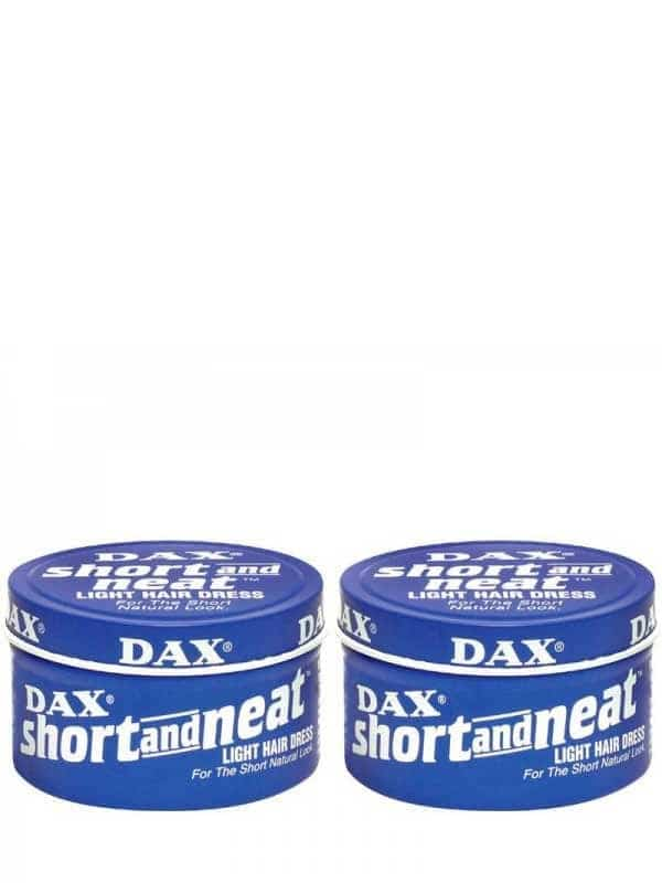 Lot De 2 Cire Short & Neat 99 G Dax