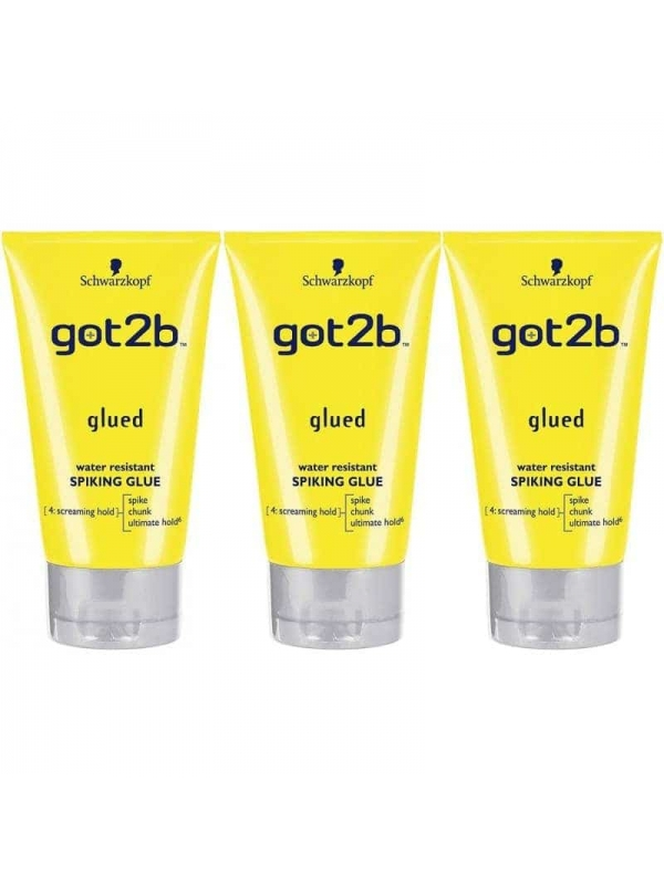 Lot De 3 Got2b Colle 150 Ml Schwarzkopf