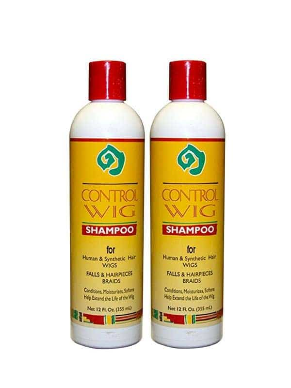 Lot De 2 Control Wig Shampoo 360 Ml African Essenc...