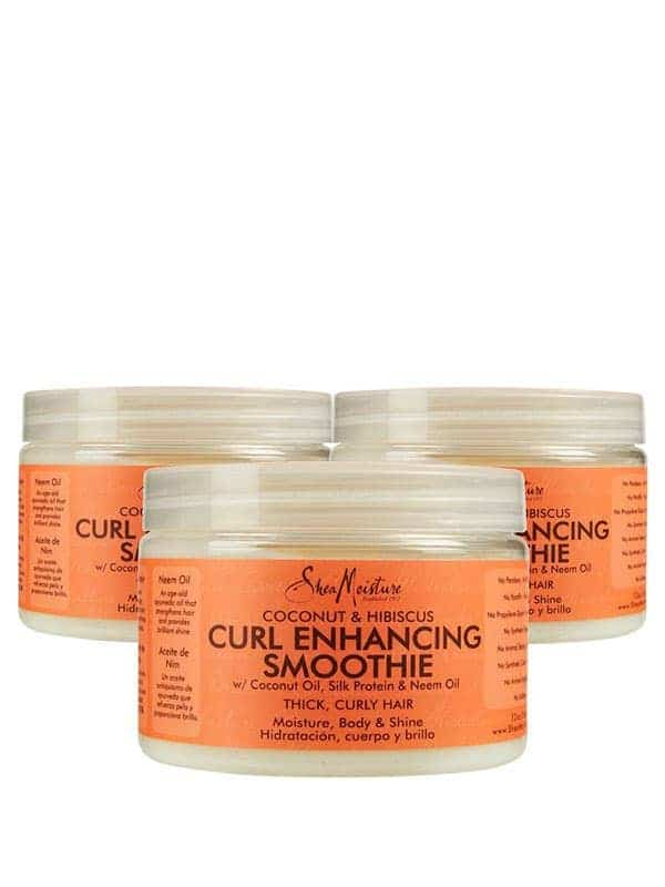 Lot De 3 Coconut & Hibiscus Curl Enhancing Smo...