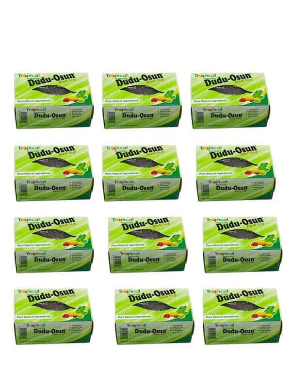 Lot De 48 Savon Noir Tropical Naturals 150g Dudu O...