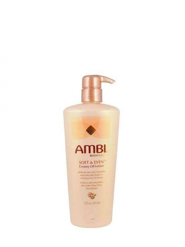 Lotion Crémeuse Soft & Even 354ml Ambi Skin C...