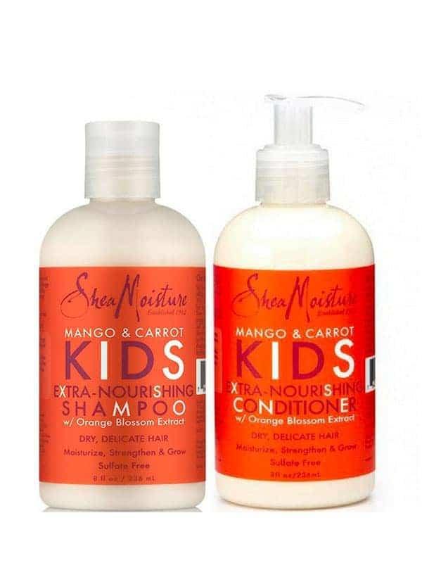 Mango & Carrot Kids Duo Nettoyant & Nourrissant Shea Moisture
