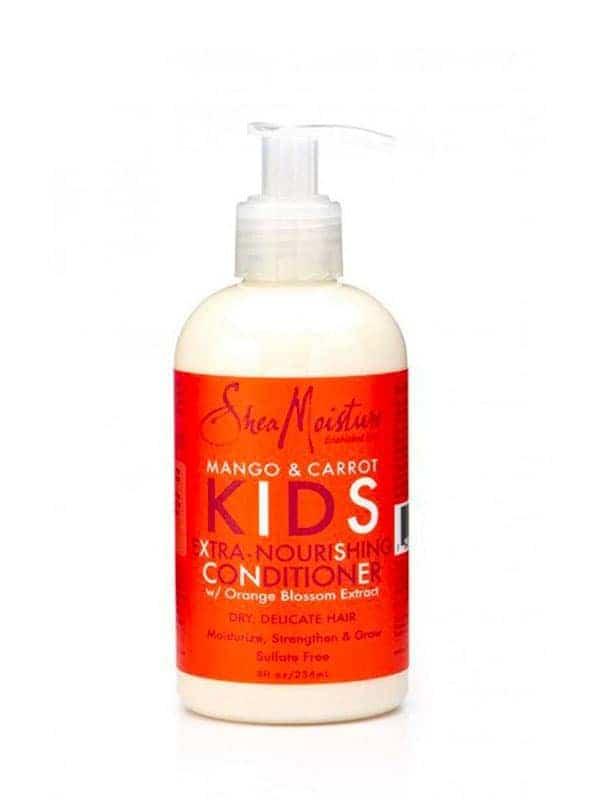 Mango & Carrot Kids Extra Nourishing Conditioner 236 Ml Shea Moisture