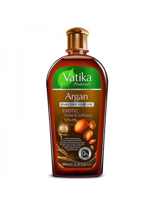 Moroccan Argan Natural Enriched Hair Oil for Hair ...