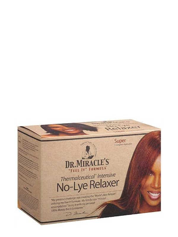 No-lye Relaxer Super Kit by Dr. Miracle's