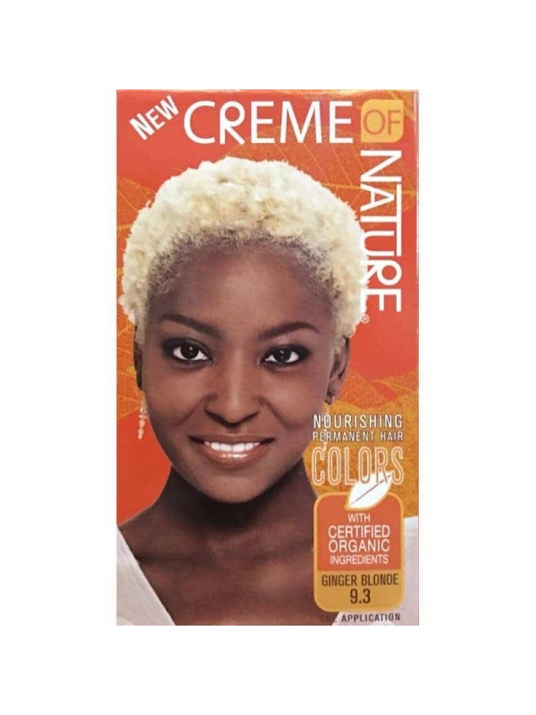 Nourishing Permanent Hair Gnger Blonde 9.3 Creme of Nature