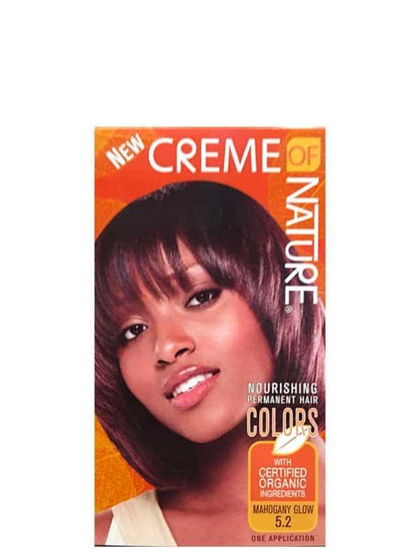 Nourishing Permanent Hair Mahogany Glow 5.2 Creme ...