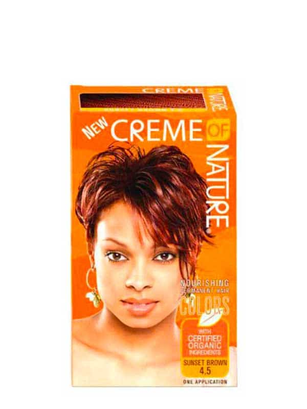 Nourishing Permanent Hair Sunset Brown 4.5 Creme o...