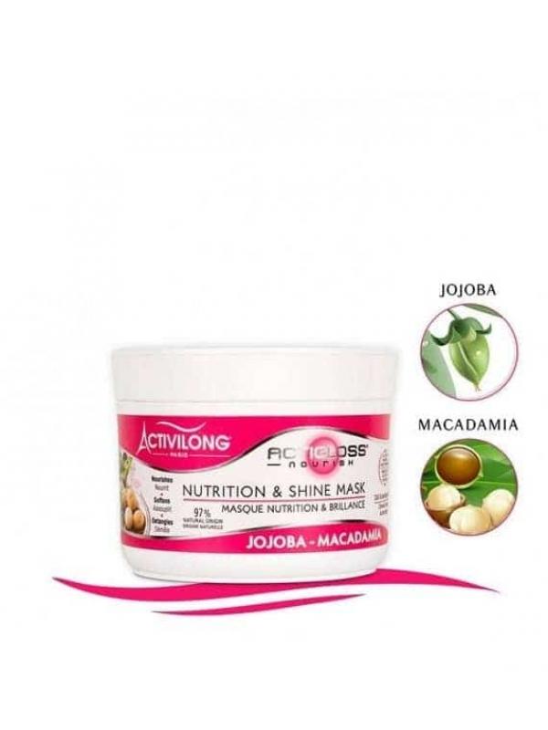 Masque Nutrition Et Brillance Actigloss Nourish
