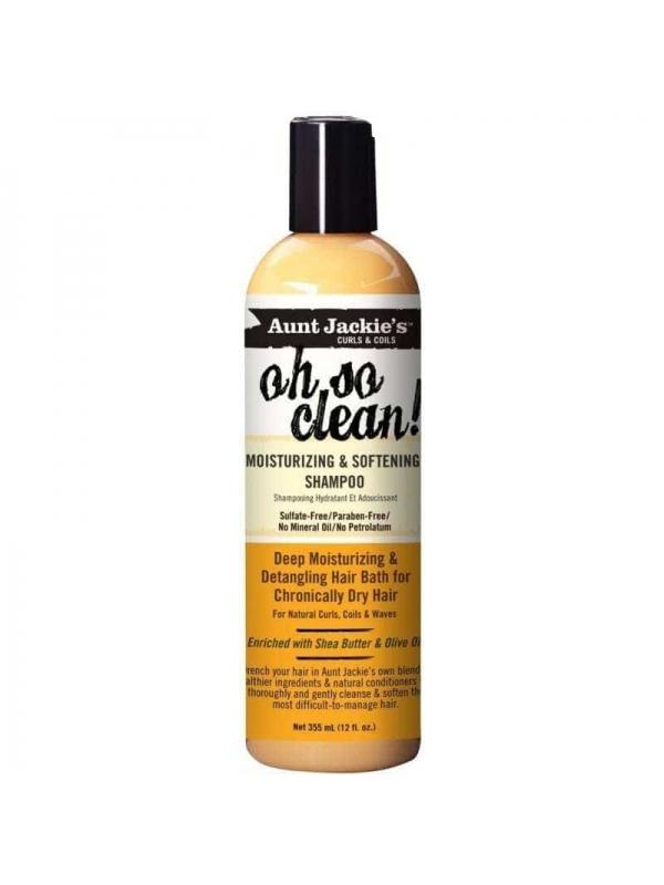 Oh So Clean Shampooing Hydratant Et Adoucissant 355 Ml Aunt Jackie's