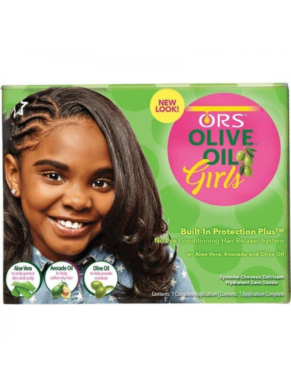 Olive Oil Girls Built-in Protection Plus Conditioning No-lye Crème Relaxer System Ors