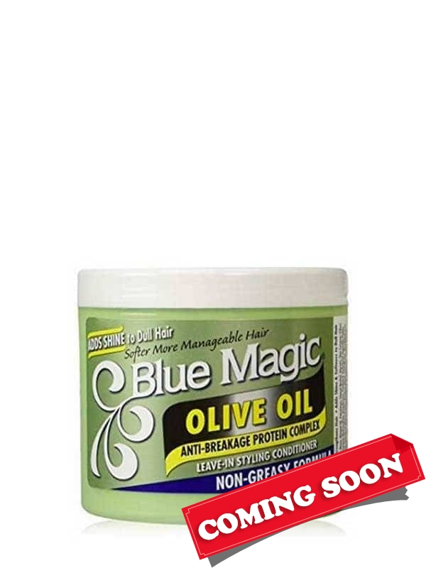Olive Oil Styling Conditioner 390g Blue Magic