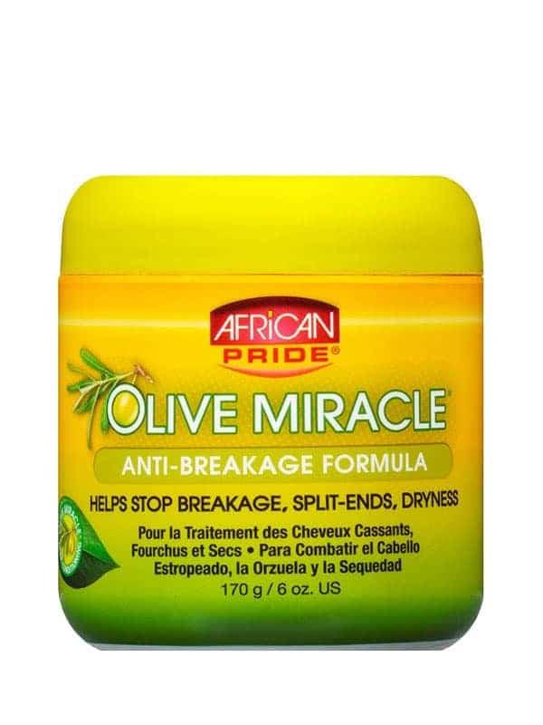 Olive Miracle Formule Pour Les Cheveux 177 Ml African Pride