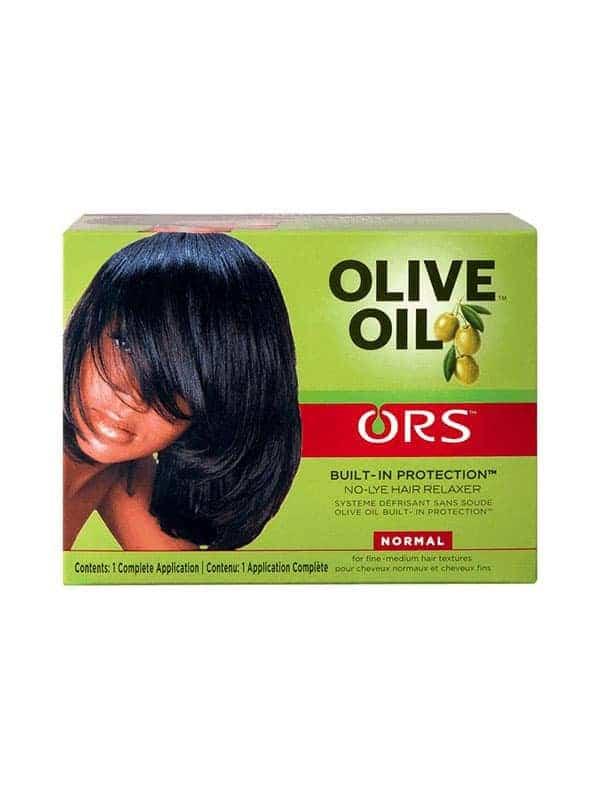 Olive Oil Kit Défrisant Sans Soude Cheveux Normau...