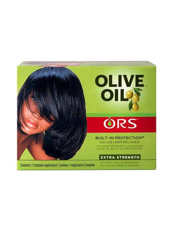 Olive Oil Kit Défrisant Sans Soude Pour Cheveux �...