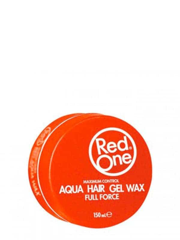 Orange Aqua Hair Gel Wax Full Force 150 Ml Red One Wax