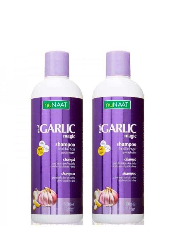 Pack De 2 Shampoing Garlic Magic 500 Ml Nunaat
