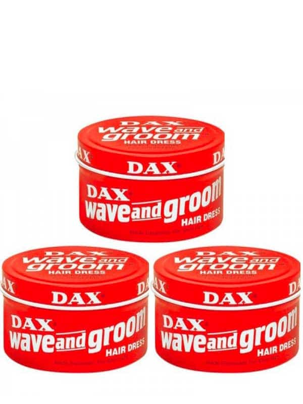 Pack De 3 Creme De Soin Wave and Groom 99 G Dax