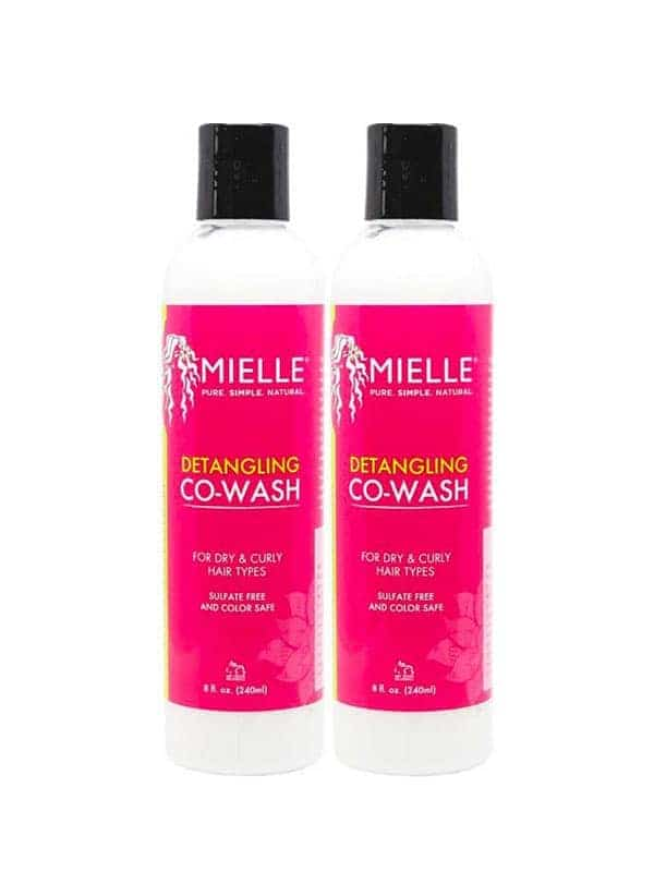 Pack De Démelant Co-wash Pour Cheveux Secs Et Bouclés Par Mielle Organics