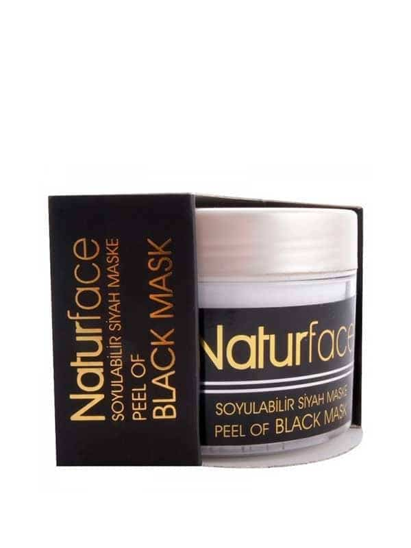 Peel of Black Mask Naturface