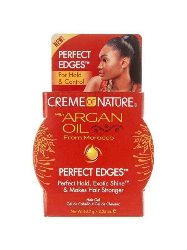 Perfect Edge Control Argan Oil. 63.7ml Creme of Na...