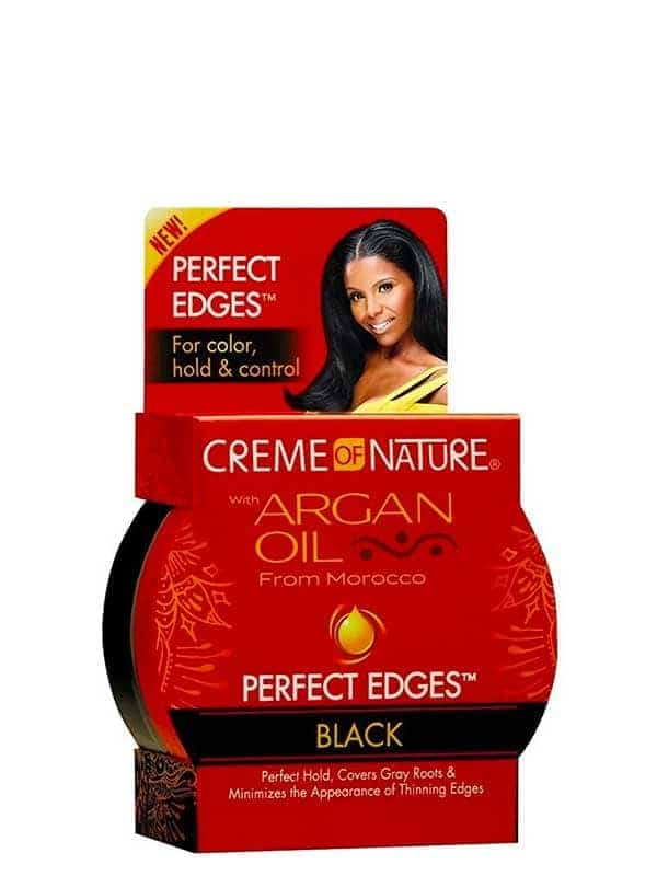 Perfect Edges Black Argan Oil. 63.7ml Creme of Nat...